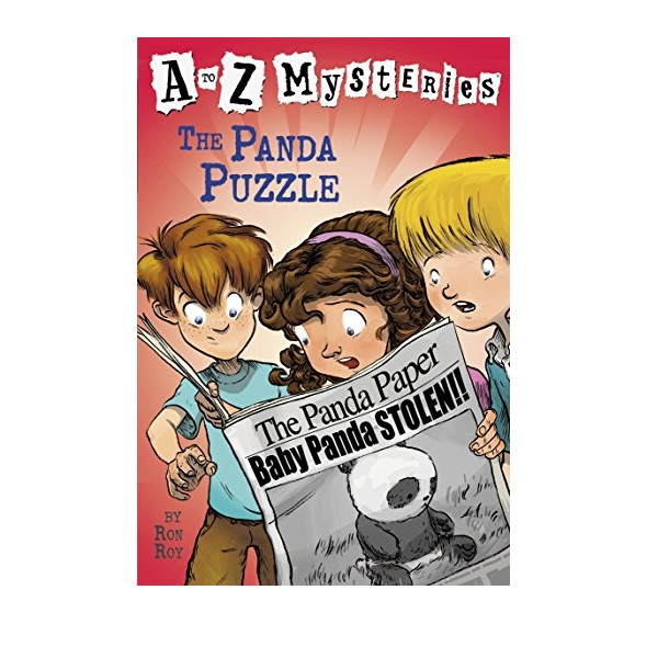 RL 3.5 : A to Z Mysteries Series #16 : The Panda Puzzle (Paperback)