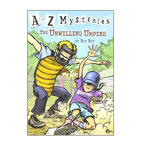 RL 3.5 : A to Z Mysteries Series #21 : The Unwilling Umpire (Paperback)