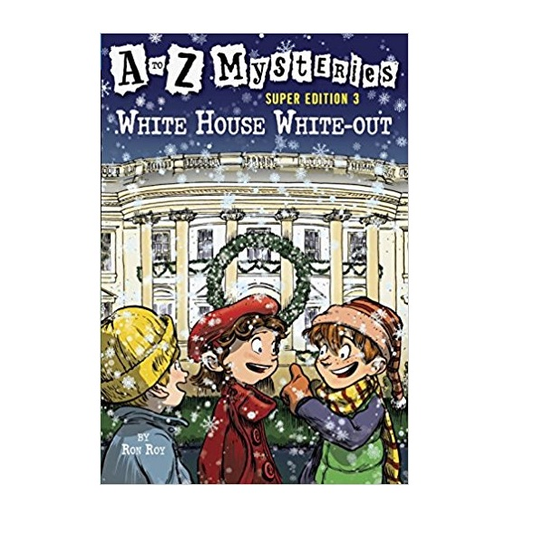 RL 3.5 : A to Z Mysteries Super Edition #3 : White House White-Out (Paperback)
