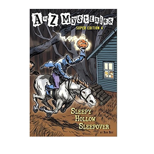 RL 3.5 : A to Z Mysteries Super Edition #4 : Sleepy Hollow Sleepover (Paperback)
