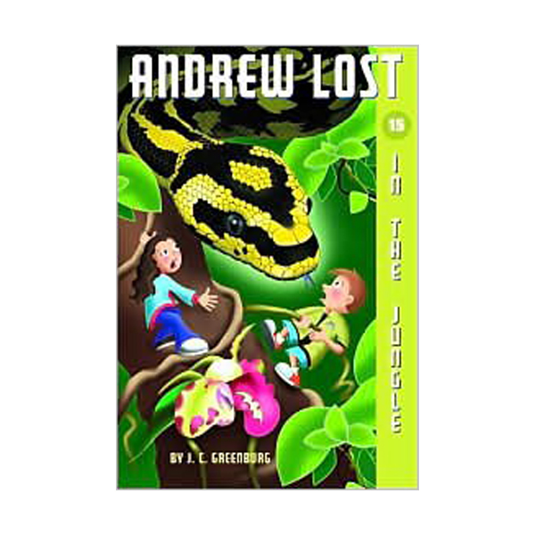 RL 3.5 : Andrew Lost Series #15 : In the Jungle (Paperback)