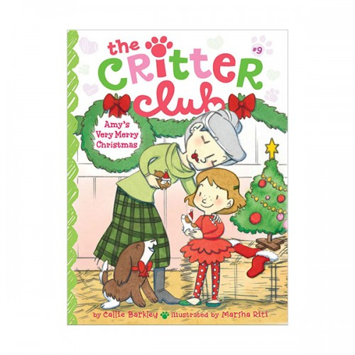 The Critter Club #09 : Amy's Very Merry Christmas (Paperback)