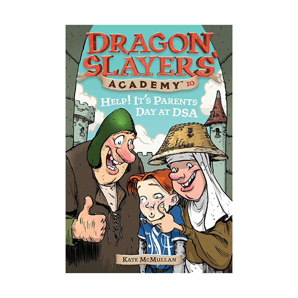 RL 3.5 : Dragon Slayers' Academy Series #10: Help! It's Parents Day at DSA (Paperback)