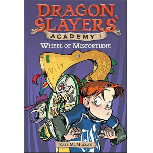 RL 3.5 : Dragon Slayers' Academy Series #7: Wheel of Misfortune (Paperback)