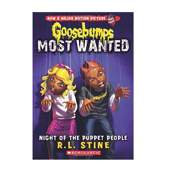 Goosebumps Most Wanted #08 : Night of the Puppet People (Paperback)