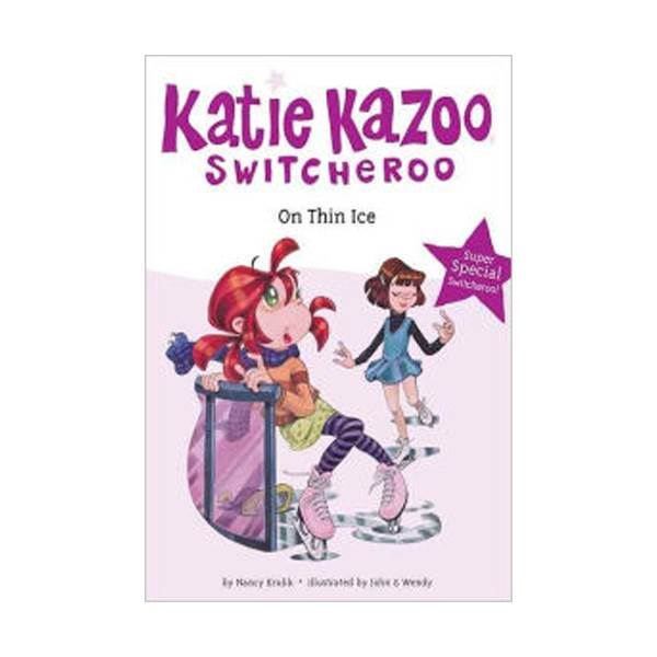RL 3.5 : Katie Kazoo Switcheroo Super Special : Super Special On Thin Ice (Paperback)