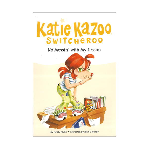 RL 3.5 : Katie Kazoo, Switcheroo #11 : No Messin' With My Lesson (Paperback)