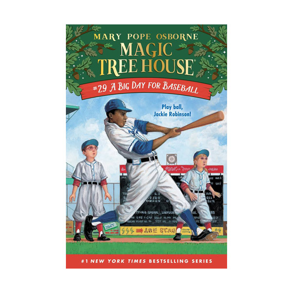 RL 3.5 : Magic Tree House #29 : A Big Day for Baseball (Paperback)