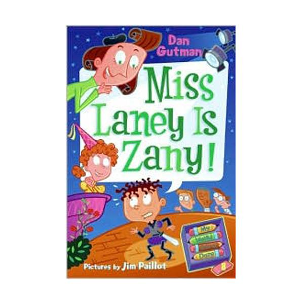 RL 3.5 : My Weird School Daze Series #8 : Miss Laney Is Zany! (Paperback)