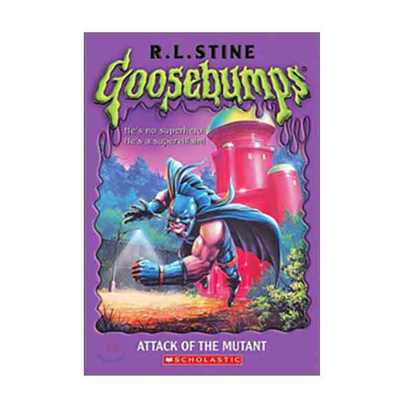 RL 3.5 : Original Goosebumps Series #25 : Attack of the Mutant (Paperback)