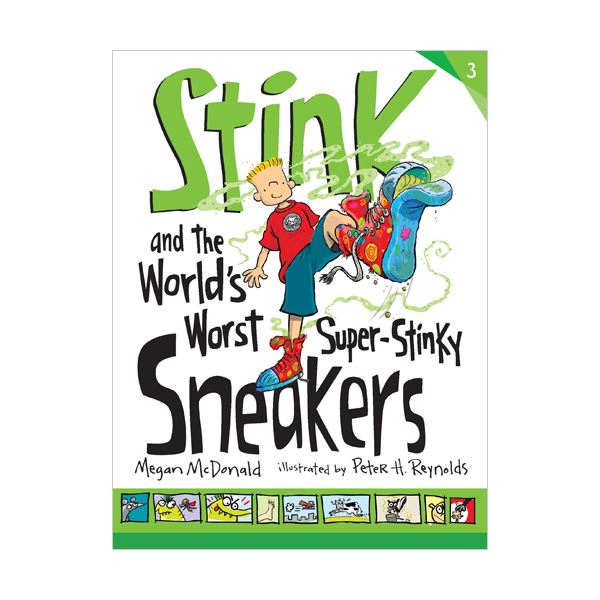 스팅크 #03 : Stink and the World's Worst Super-Stinky Sneakers (Paperback)