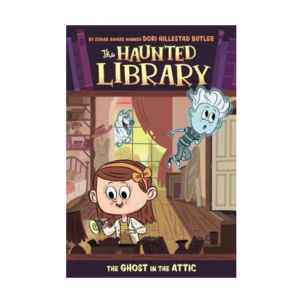 The Haunted Library #02 : The Ghost in the Attic (Paperback)