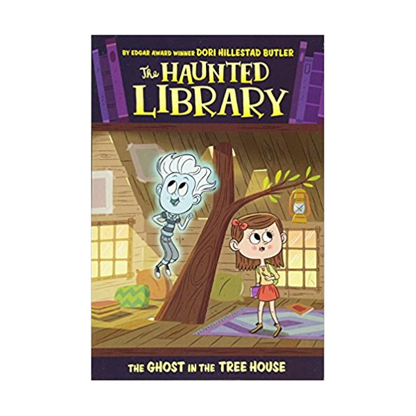 The Haunted Library #07 : The Ghost in the Tree House (Paperback)