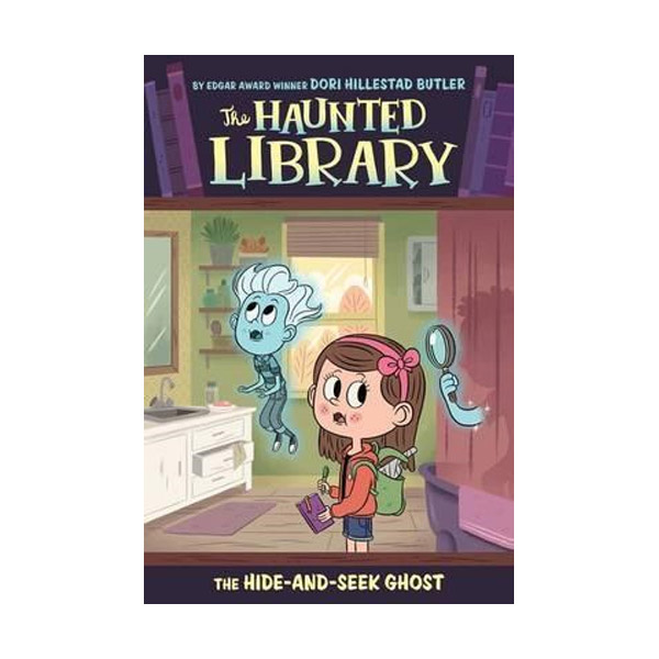 The Haunted Library #08 : The Hide-and-Seek Ghost (Paperback)
