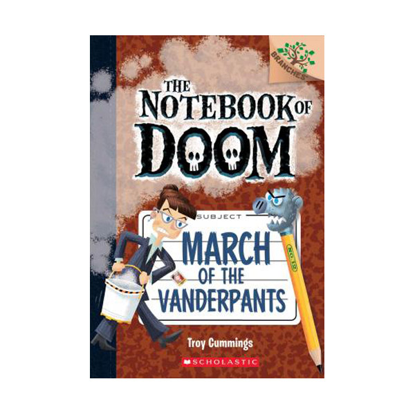 The Notebook of Doom #12 : March of the Vanderpants (Paperback)