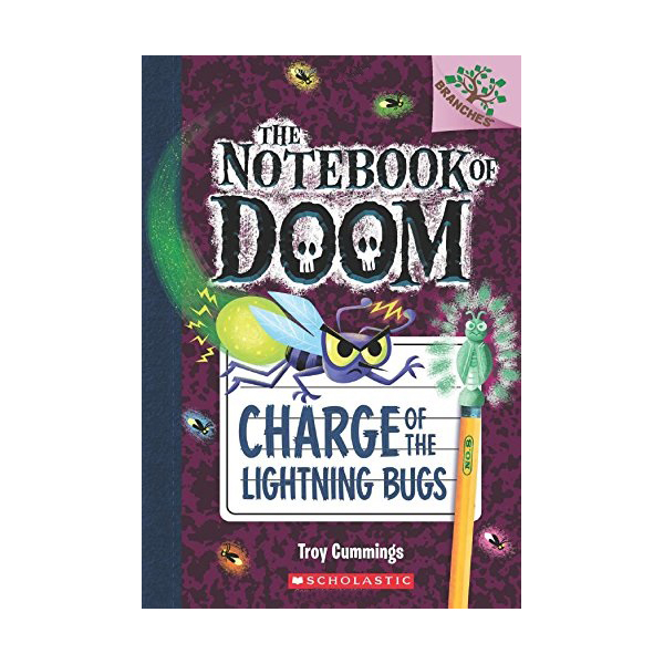 The Notebook of Doom #08 : Charge of the Lightning Bugs (Paperback)