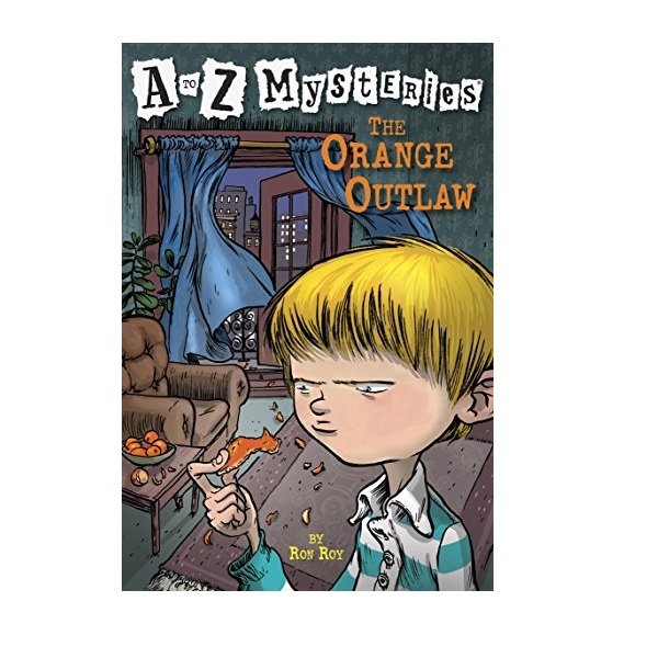 RL 3.6 : A to Z Mysteries Series #15 : The Orange Outlaw (Paperback)