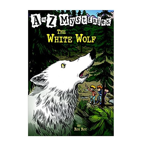 RL 3.6 : A to Z Mysteries Series #23 : The White Wolf (Paperback)