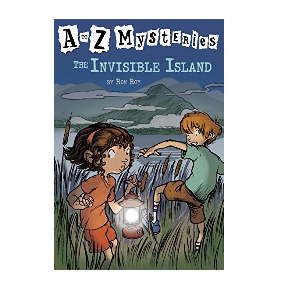 RL 3.6 : A to Z Mysteries Series #9 : The Invisible Island (Paperback)