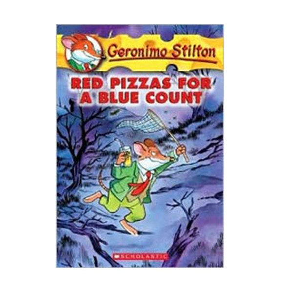 Geronimo Stilton #07 : Red Pizzas For A Blue Count (Paperback)