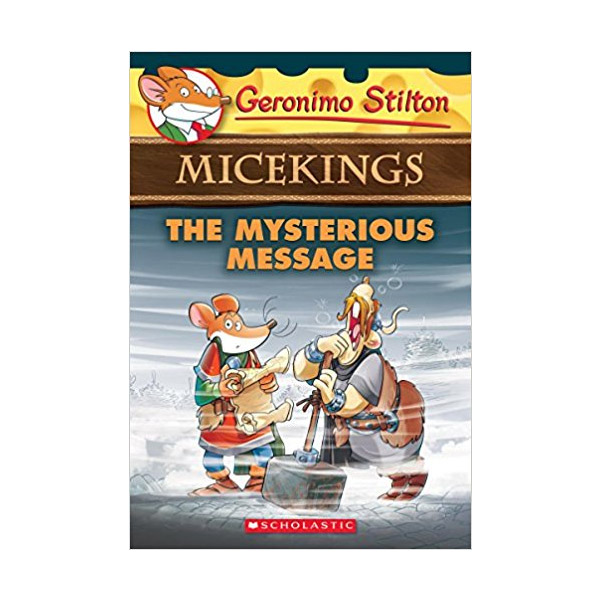 RL 3.6 : Geronimo : Micekings #05 : The Mysterious Message (Paperback)