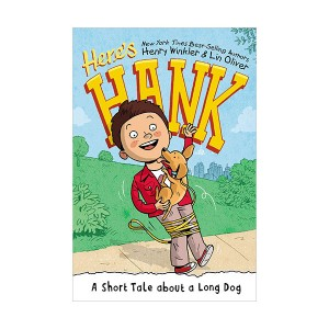 Here's Hank #02 : A Short Tale About a Long Dog (Paperback)