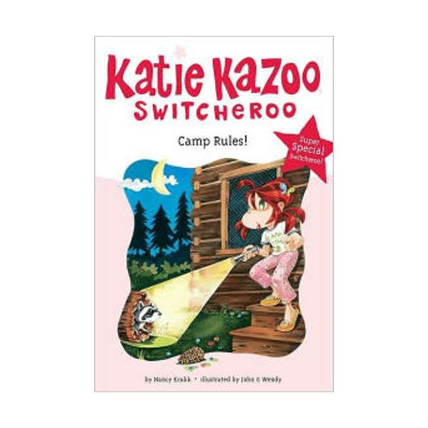RL 3.6 : Katie Kazoo, Switcheroo Super Special : Camp Rules! (Paperback)