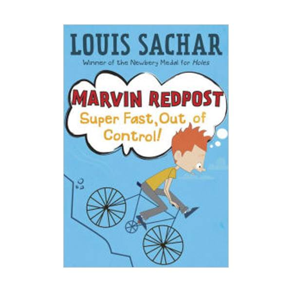 RL 3.6 : Louis Sachar : Marvin Redpost Series #7: Super Fast, Out of Control (Paperback)