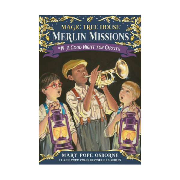 Magic Tree House Merlin Missions #14 : A Good Night for Ghosts (Paperback)