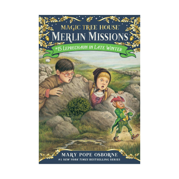 RL 3.6 : Magic Tree House : Merlin Missions #15 : Leprechaun in Late Winter (Paperback)