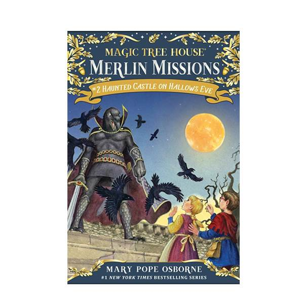 Magic Tree House Merlin Missions #02 : Haunted Castle on Hallows Eve (Paperback)