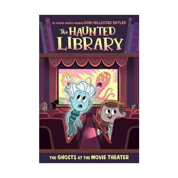 The Haunted Library #09 : The Ghosts at the Movie Theater (Paperback)