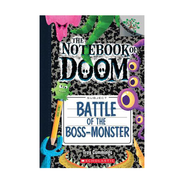 The Notebook of Doom #13 : Battle of the Boss-Monster (Paperback)