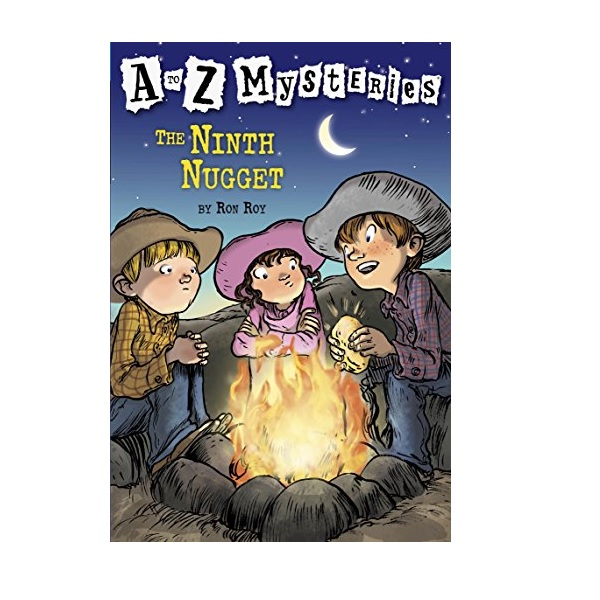 RL 3.7 : A to Z Mysteries Series #14 : The Ninth Nugget (Paperback)
