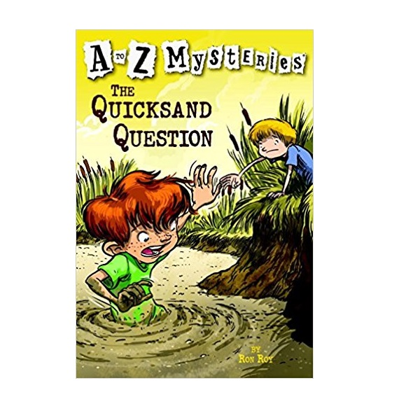 RL 3.7 : A to Z Mysteries Series #17 : The Quicksand Question (Paperback)