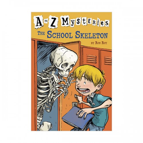 RL 3.7 : A to Z Mysteries Series #19 : The School Skeleton (Paperback)