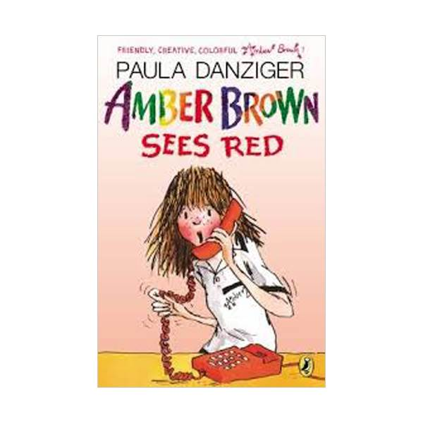 RL 3.7 : Amber Brown #06 : Amber Brown Sees Red (Paperback, Reprint Edition)