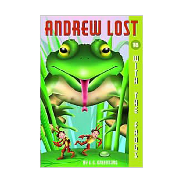 RL 3.7 : Andrew Lost Series #18 : With the Frogs (Paperback)