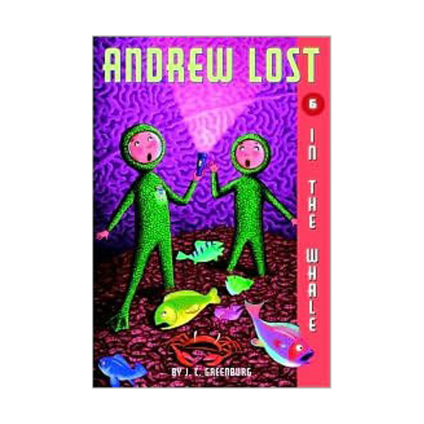 RL 3.7 : Andrew Lost Series #6 : In the Whale (Paperback)