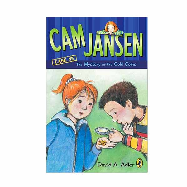 RL 3.7 : Cam Jansen #5 : The Mystery of the Gold Coins (Paperback)