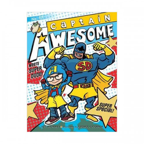 RL 3.7 : Captain Awesome Series #17 : Captain Awesome Meets Super Dude! : Super Special (Paperback)