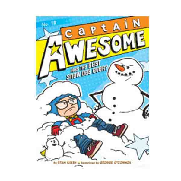 Captain Awesome Series #18 : Captain Awesome Has the Best Snow Day Ever? (Paperback)