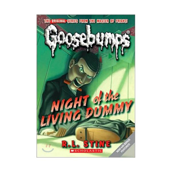 Classic Goosebumps #01 : Night of the Living Dummy (Paperback)
