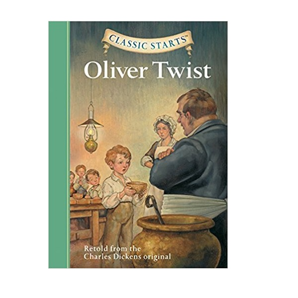 RL 3.7 : Classic Starts Series : Oliver Twist (Hardcover)