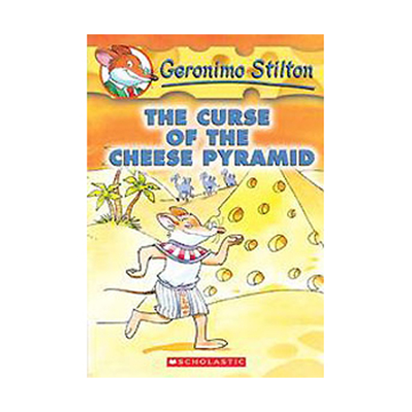 Geronimo Stilton #02 : The Curse of the Cheese Pyramid (Paperback)