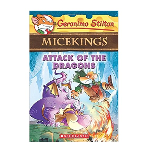 RL 3.7 : Geronimo : Micekings #01 : Attack of the Dragons (Paperback)