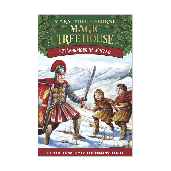 RL 3.7 : Magic Tree House # 31 : Warriors in Winter (Hardcover)