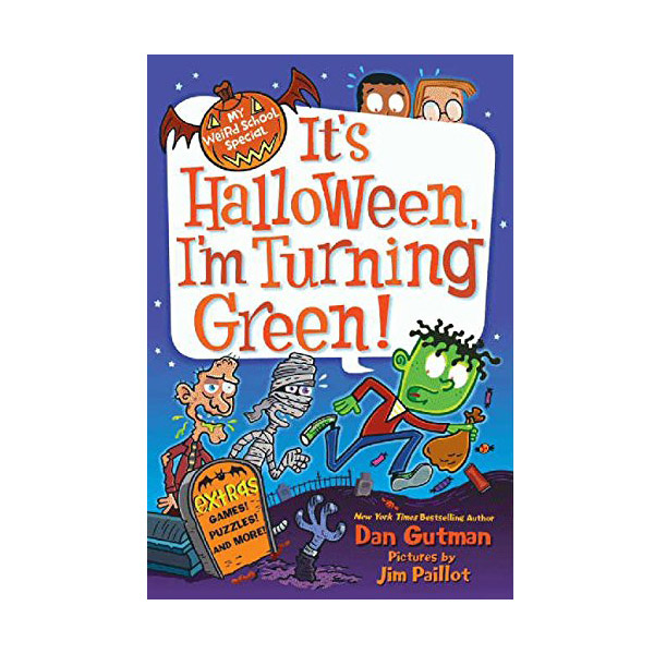 My Weird School Special : It's Halloween, I'm Turning Green! (Paperback)