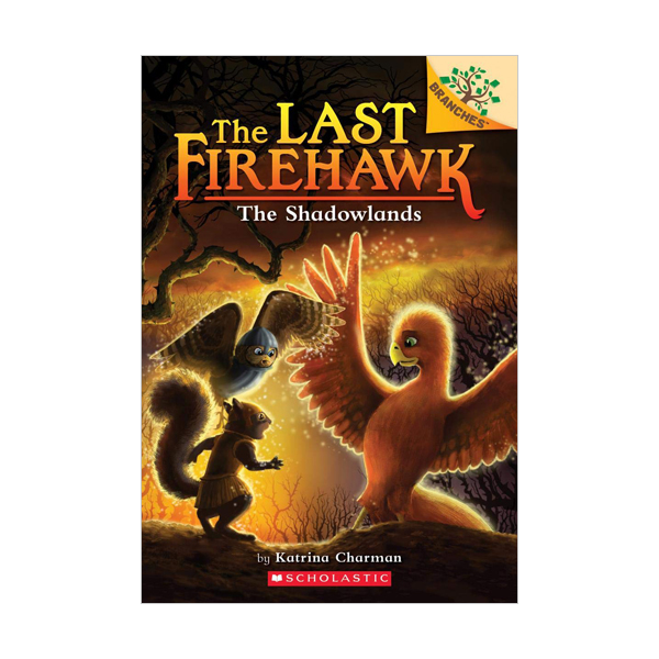 [스콜라스틱] The Last Firehawk #05 : The Shadowlands (Paperback)