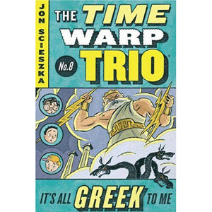 RL 3.7 : The Time Warp Trio #8 : It's All Greek to Me (Paperback)